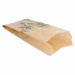 Sachets sandwiches en papier écru 9+4x22 cm personnalisés 2 couleurs CN08-14702P2C-1