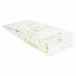 Sachets sandwiches en papier blanc 9+4x22 cm personnalisés 2 couleurs CN08-22925P2C-1