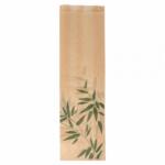 Sachets sandwiches en papier écru 9+4x30 cm personnalisés 2 couleurs CN08-14710P2C-2