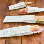 Sachets sandwiches en papier blanc 9+4x30 cm personnalisés 2 couleurs CN08-22922P2C-4