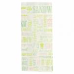 Sachets sandwiches en papier blanc 12+4x26 cm personnalisés 2 couleurs CN08-22923P2C-1