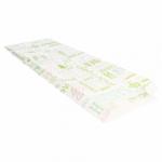 Sachets sandwiches en papier blanc 12+4x35 cm personnalisés 2 couleurs CN08-22924P2C-1