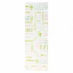 Sachets sandwiches en papier blanc 12+4x35 cm personnalisés 2 couleurs CN08-22924P2C-2