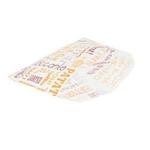 Sachets pour frites en papier blanc 12x9 cm personnalisés 1 couleur CN08-22928P1C-1