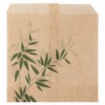 Sachets pour frites en papier écru 12x12 cm personnalisés 1 couleur CN08-143046P1C-3