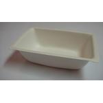 Barquette biodégradable 350 ml en pulpe de canne à sucre 9.5x14.5x4 cm - ProSaveurs - 1