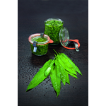 Bocaux Weck - mise en situation - Sauce Pesto - ProSaveurs