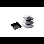 Assiettes jetables en plastique micro-ondables pour plateaux-reas éco responsbles - ProSaveurs -