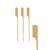 Piques cocktail bambou Golf 9 cm en paquet de 100 CN08-14145-1