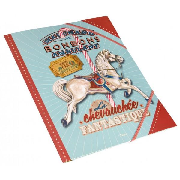 chemise-cartonnee-chevauchee-fantastique-natives-deco-retro-vintage