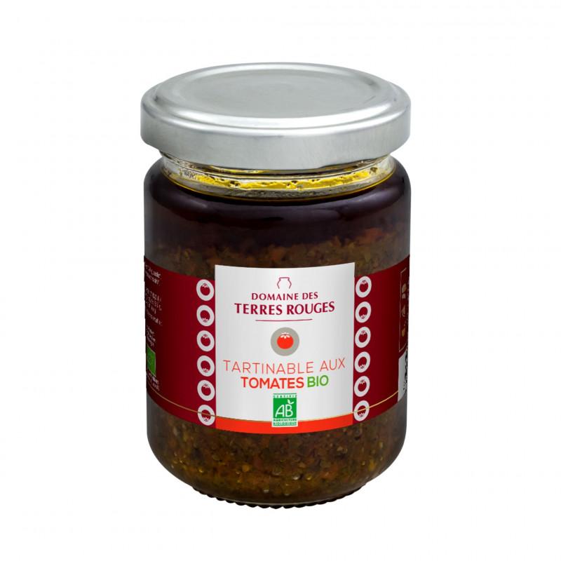 Tartinable aux Tomates Bio 120g