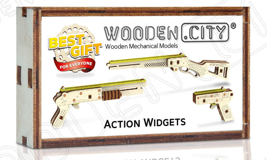 Widget Canons de WOODEN CITY5