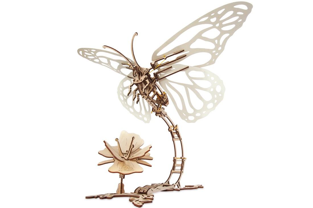 Ugears Maquette mécanique «Butterfly» Papillon