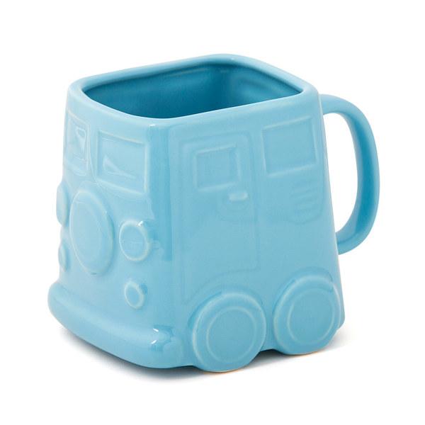 Mug Van bleu céramique