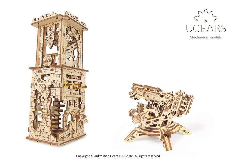 Ugears Maquette mécanique «Archballista-Tower» arbalète à tour