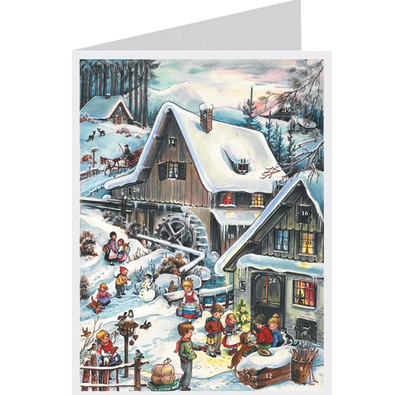 carte-postale-calendrier-de-l-avent