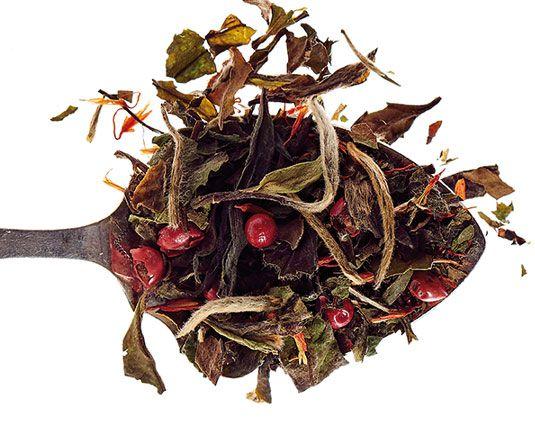Thé blanc Noel en blanc comptoir français du thé