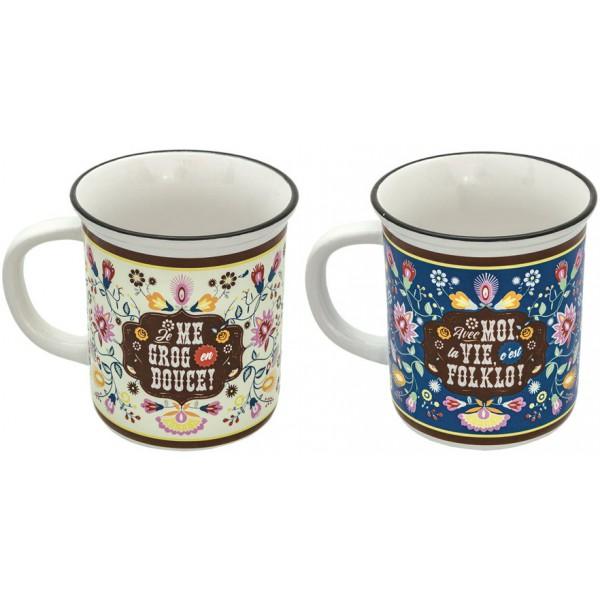 2-mugs-facon-email-folklo-natives-deco-retro-vintage