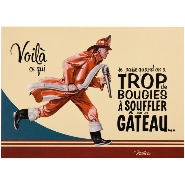 carte-postale-anniversaire-pompier-natives-deco-retro-vintage-humoristique