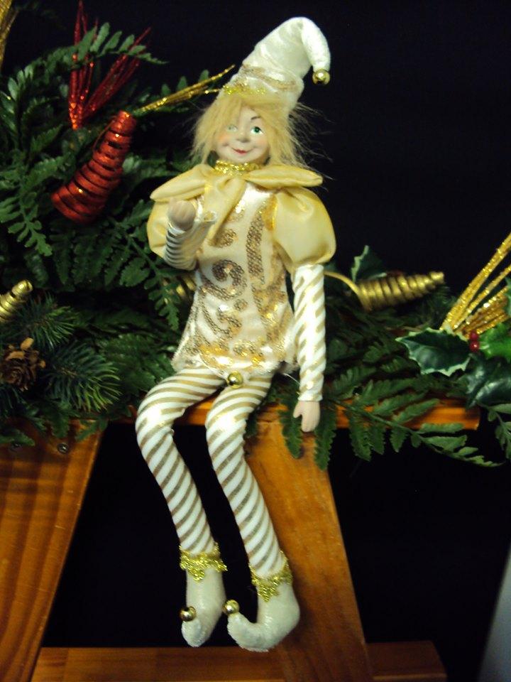 Pantalon Lutin coquin espiègle de Noël