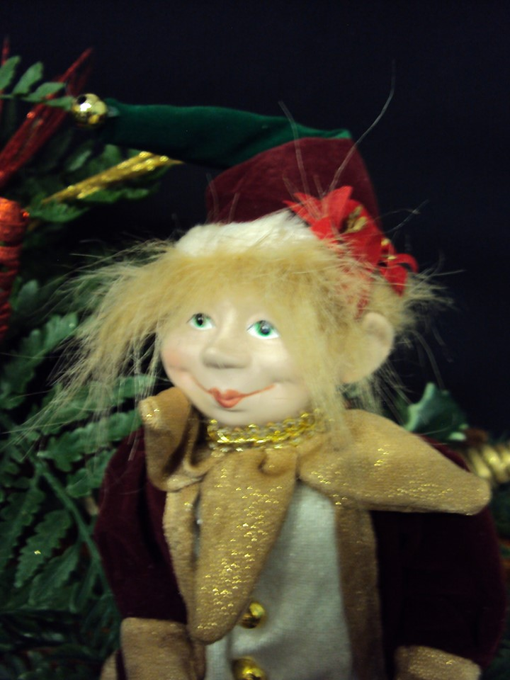 Arlequin Lutins coquins espiègles de Noël