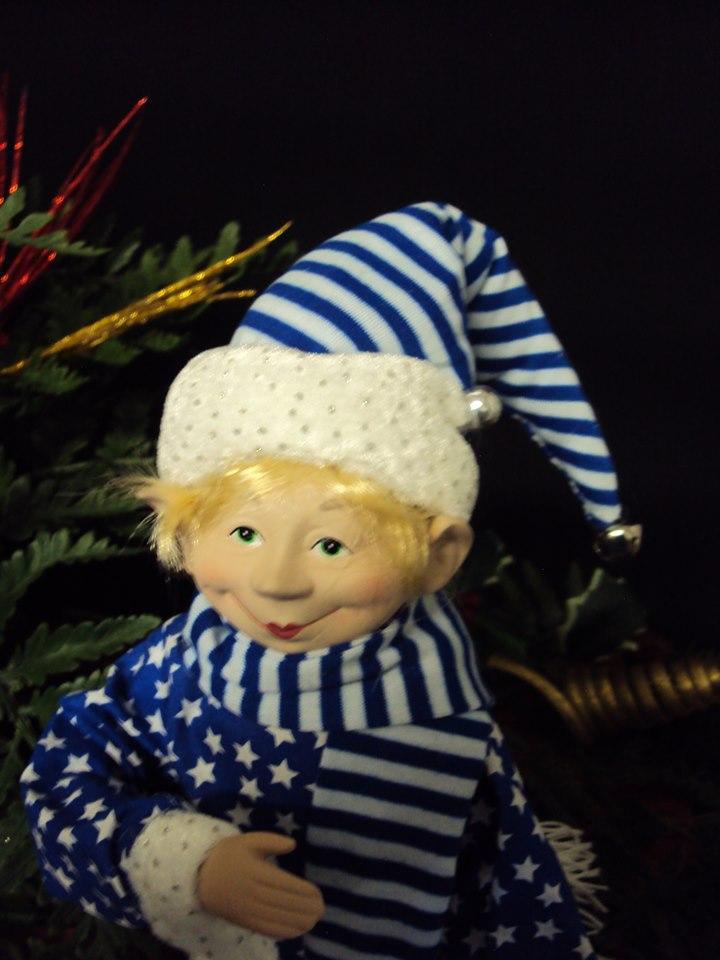 Frosty Lutins coquins espiègles de Noël visage