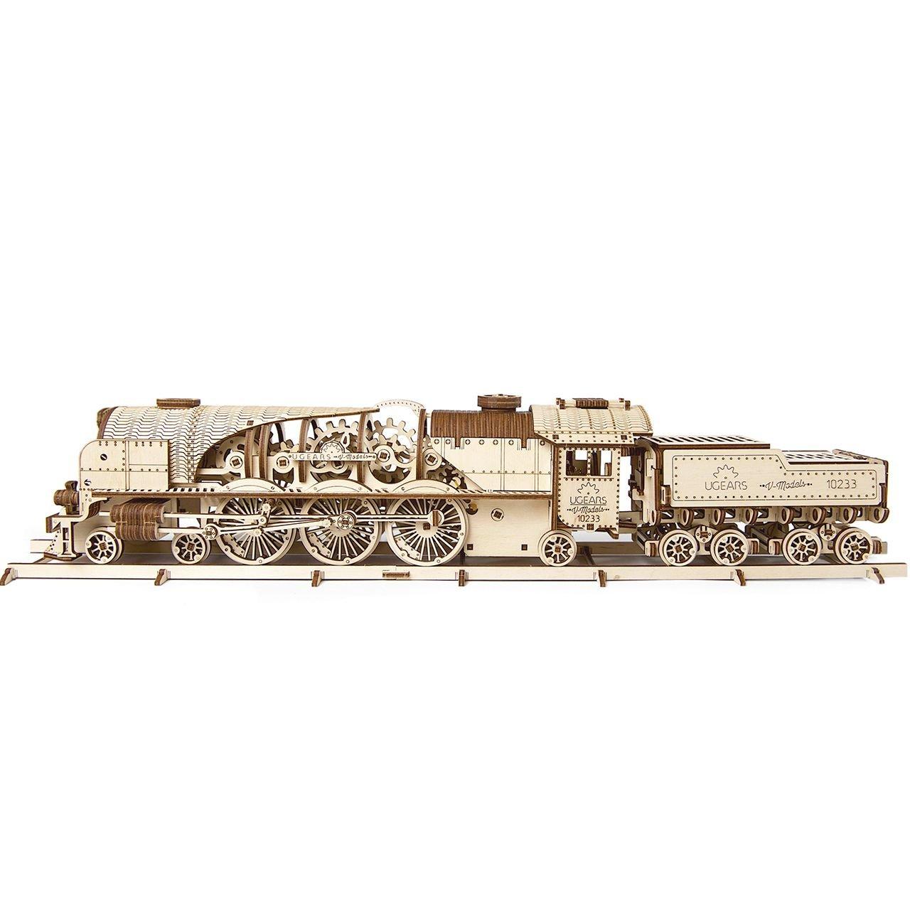 2-locomotive-v-express-puzzle-3d-mécanique-en-bois-ugears