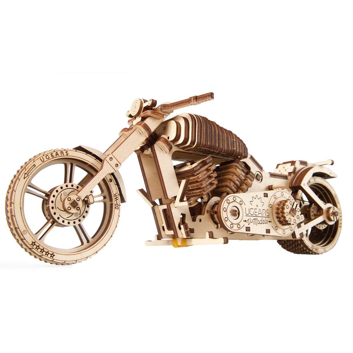 1-moto-puzzle-3d-mécanique-en-bois-ugears