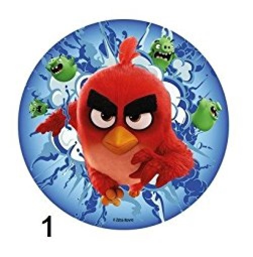 Disque Azyme Angry Birds modèle 1 20cm