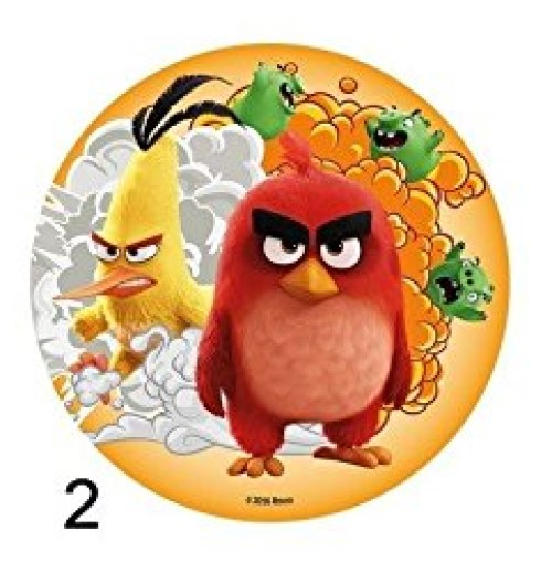 Disque Azyme Angry Birds modèle 2 20cm
