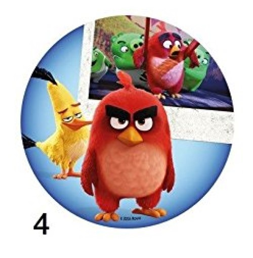 Disque Azyme Angry Birds modèle 4 20cm