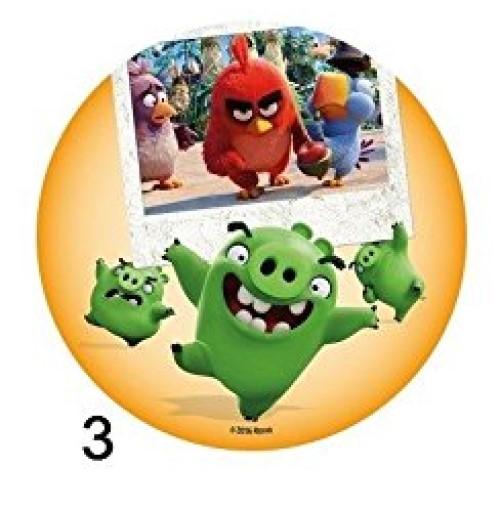 Disque Azyme Angry Birds modèle 3 20cm