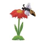 créagami abeille sur fleur 2