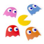Pac Man et fantomes