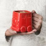 Mug Van rouge céramique