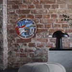 26836B Plaque décoration murale Music LED 18 cm PVC