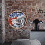 26837B Plaque décoration murale Music LED plastique