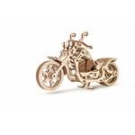 CRUISER - puzzle de moto 3D à remontage mécanique avec le mécanisme de moteur à bande élastique
