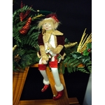 Lutin coquin de Noël modèle Arlequin