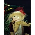 Arlequin Lutin coquin de Noël