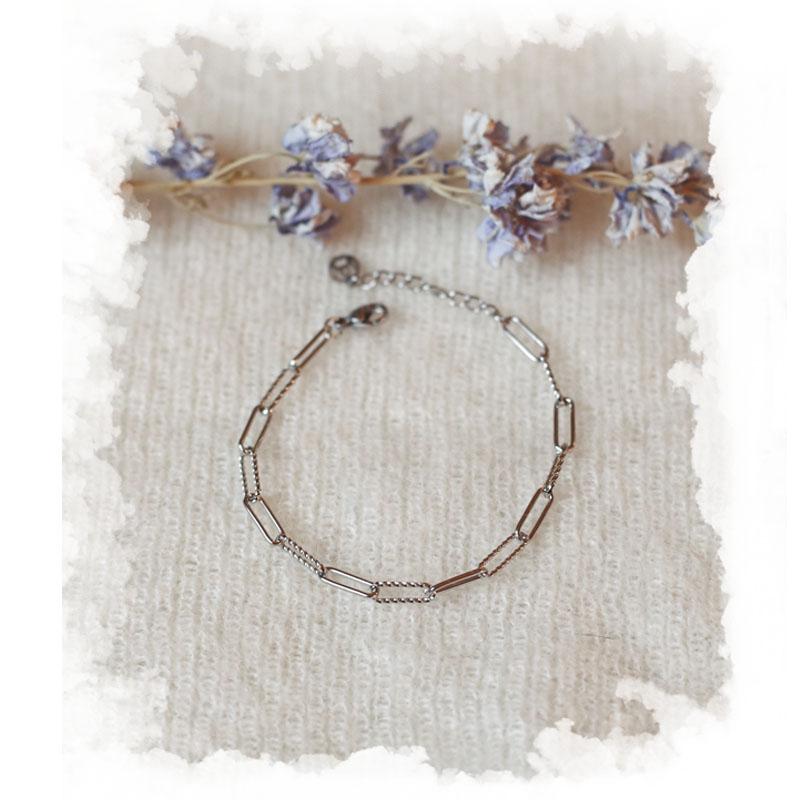 Bracelet Danaé - Argenté