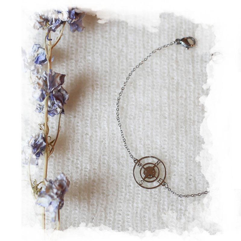 Bracelet Rosa - Argenté