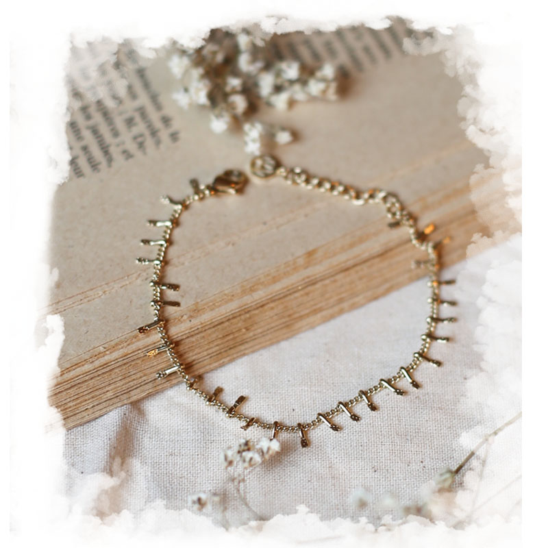 Bracelet Eulalie - Doré