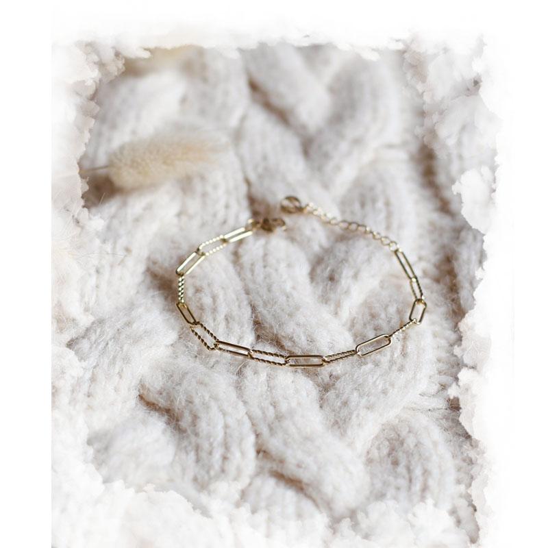 Bracelet Danaé - Doré