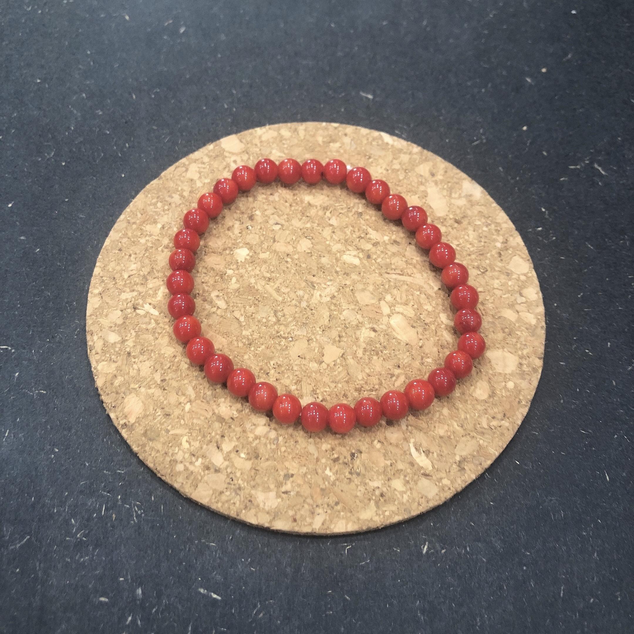 Bracelet  Intuition  - Imitation Corail