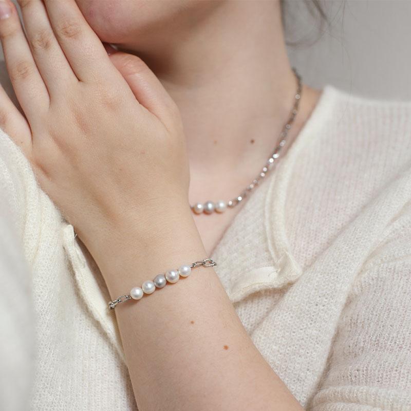 Bracelet Angèle - Argenté