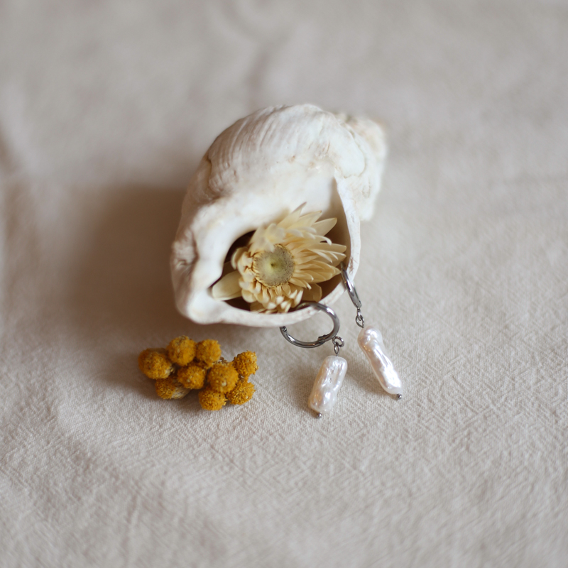 Boucles Anaïs - Argenté