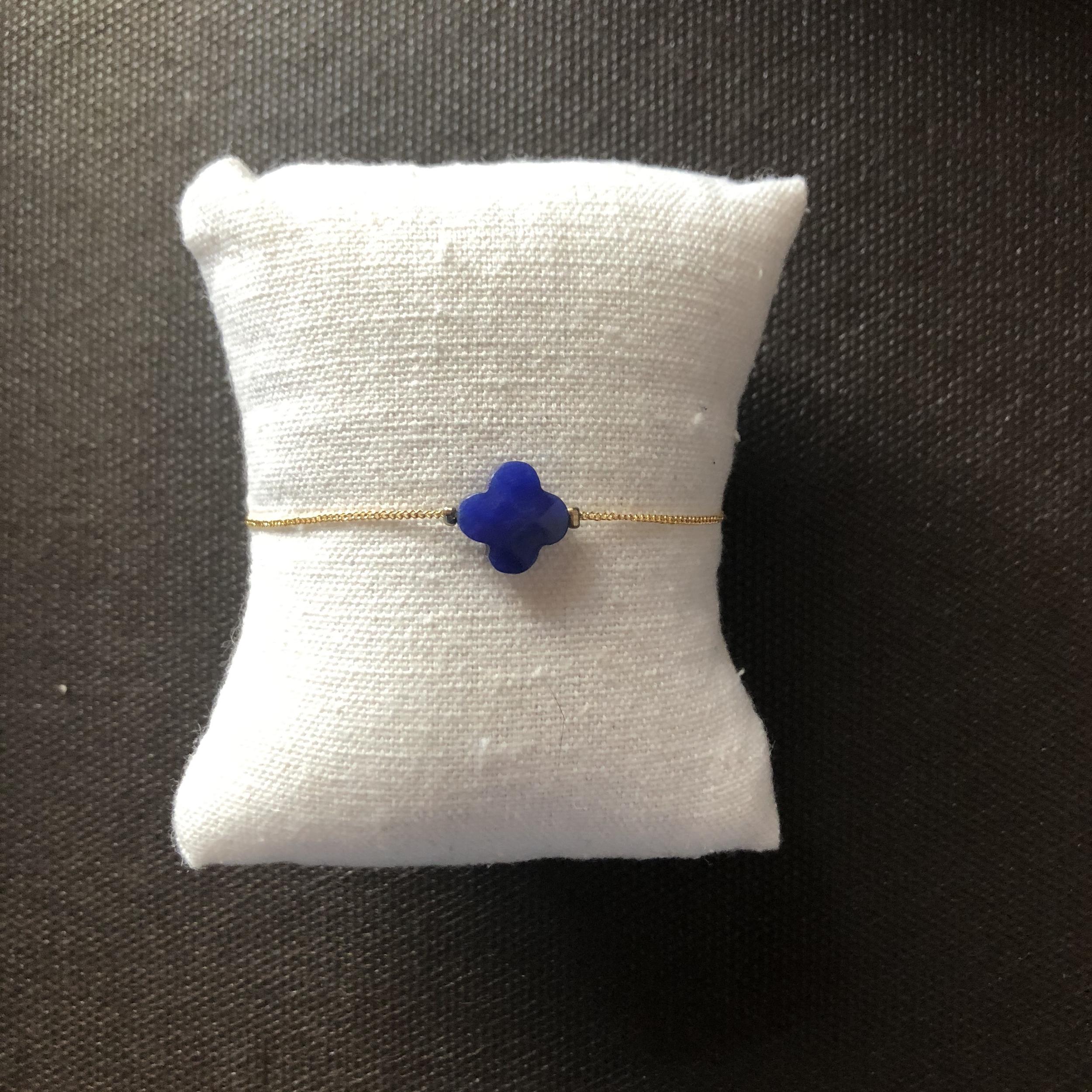 Bracelet Trefle - Doré