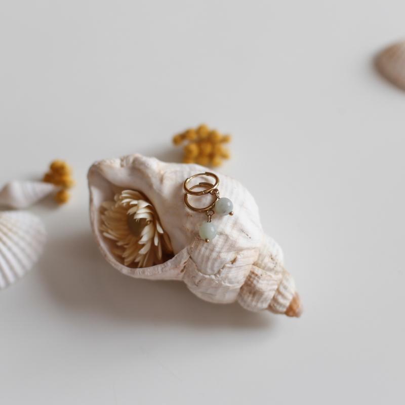 Boucles Héloïse - Amazonite