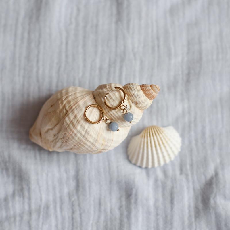 Boucles Héloïse - Angélite